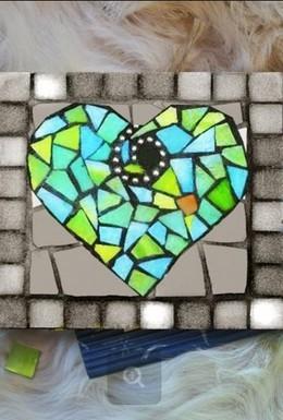 """Мастер-класс «Мозаика от всего сердца» и """"Золотое сердце"""""""