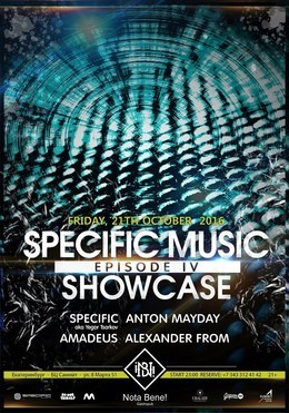 Specific Music Showcase [Episode IV]