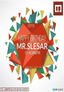 happy birthday mr slesar