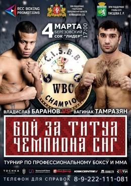 Турнир по боксу и ММА в Берёзовском!
