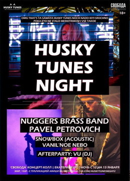 Husky Tunes Night #2