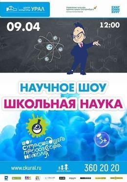 Научное шоу профессора Николя «Школьная наука»