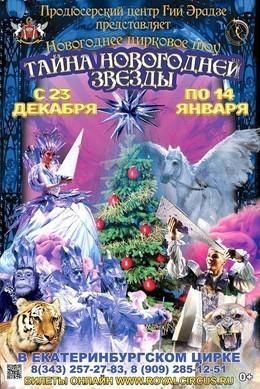 Цирковое шоу «Тайна новогодней звезды»