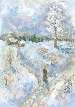 В гостях у русской зимы