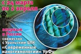 Открытие фотовыставки «От крыла бабочки к нанотехнологиям»