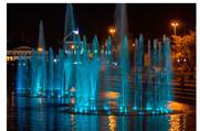 Светомузыкальный фонтан в Историческом сквере -
