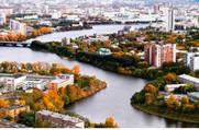 Река Исеть - Акватория городского пруда