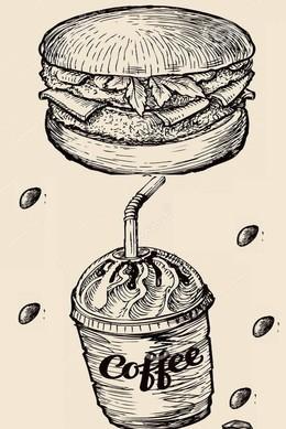 Кофе к бургеру в подарок!