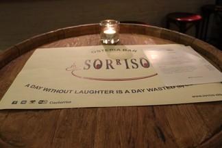 Уикенд в «Osteria Bar Sorriso»: пробуем новые апрельские блюда