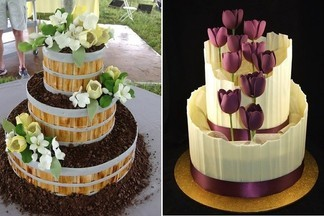 Торт как произведение искусства. Когда жаль отрезать кусочек – это десерт от «Тортоешки»