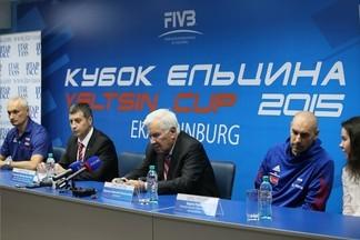 Спортсменки и просто красавицы! Сегодня стартует XIII международный Кубок Ельцина по волейболу!