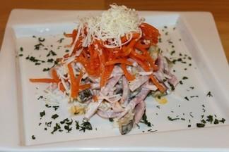 Рецепт от шефа бара «Баррель»: салат «Orange»