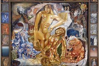 Открытие выставки Миши Брусиловского из собственных фондов музея изобразительных искусств и коллекции Евгения Ройзмана