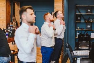 Сборы жениха, или брутальное утро перед свадьбой. Как в «Boy Cut» готовят будущих мужей?