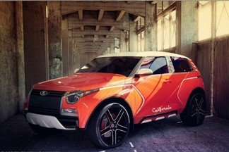 Надежда автопрома: в Екатеринбурге презентовали проект Lada California