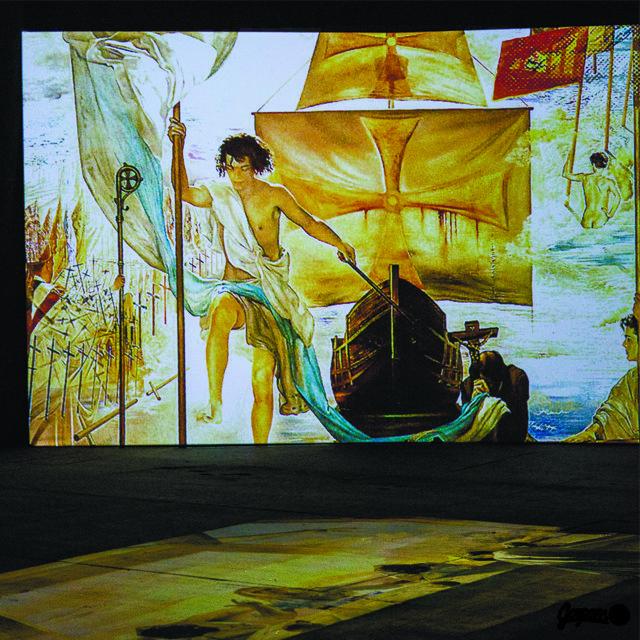 Ожившие полотна Сальвадора Дали, фото № 1