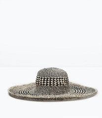 ZARA Шляпа широкополая двухцветная 0049/005