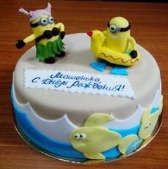 Торт Торт-Мне Миньоны