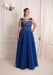 Viva Синее вечернее платье