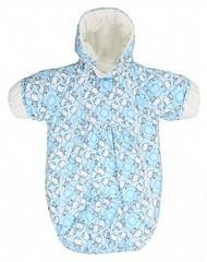 Finskay Конверт KERRY для новорожденных BLISS (нежно-голубой)
