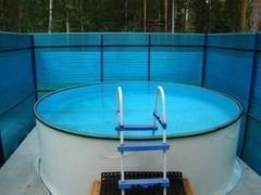 База отдыха Светлая Открытый бассейн