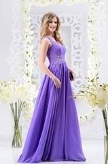 Viva Сиреневое платье 46 р.