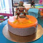 Торт Zara-торт Детский торт Черепашки-ниндзя