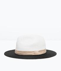 ZARA Двухцветная шляпа 0049/006