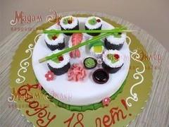 Торт Мадам Эклер Суши
