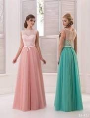 Viva Бело-розовое платье 46 р.