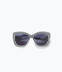 ZARA Солнцезащитные очки с правой в полоску 2727/005
