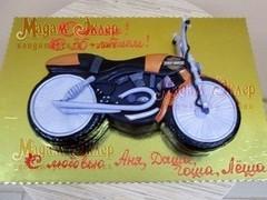 Торт Мадам Эклер Мотоцикл