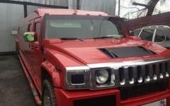 Импрессарио Limo Hummer H2 RED
