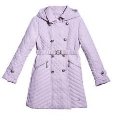 ComusL Пальто стеганное серое