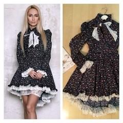 Модный домик Платье женское (оборки)