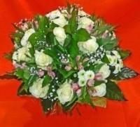 Flo-мастер Букет из белых роз.