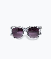 ZARA Солнцезащитные очки в прозрачной оправе 2727/002