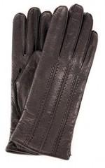 lapin66 Утепленные перчатки, отделанные декоративной строчкой