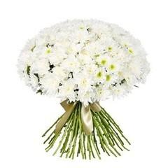 """Букетик 66 Охапка цветов """"Хризантемы"""""""