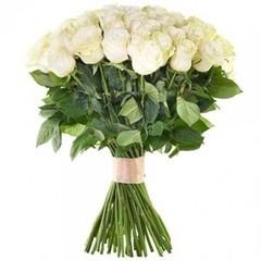 Сад Мальвины 51 роза Эквадор 50-60 см