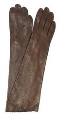 lapin66 Элегантные перчатки из перфорированной кожи1