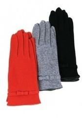 lapin66 Тонкие щерстяные вязаные перчатки