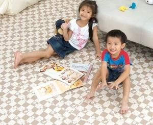 Спортмат Мягкий пол для детских комнат и игровых зон (MTP-30104) - фото 4