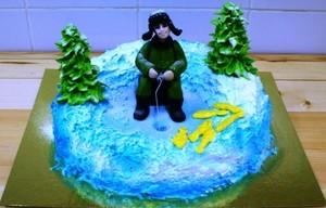 Торт Тортоешка РЫБАК - фото 1