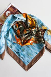Маглия Платок из крепового шелка - фото 1