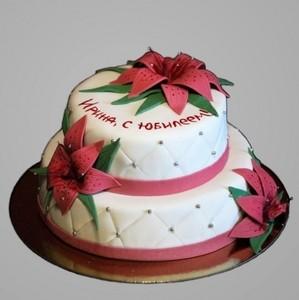 """Торт Торт-Мне Юбилейный торт """"Нежность"""" - фото 1"""
