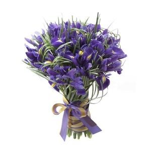 "Букетик 66 Букет из цветов ""51 ирис"" - фото 1"