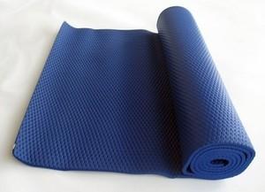 Спортмат Коврик для йоги 1800х630х6 мм синий - фото 1
