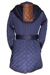 Via Roma Пальто женское со вставкой Misha Fashion - фото 2