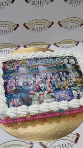 Торт Zara-торт Фото-торт №1 - фото 1